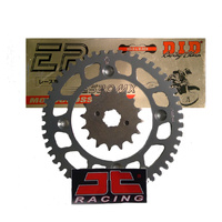 KTM 125SX (98-19) Front + Rear Alloy Sprockets-DID Gold Chain Kit