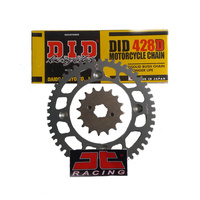 Honda CBR125R (11-17) DID Chain- JT Sprockets Front & Rear Sprocket Set