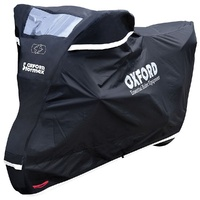OXFORD Stormex Motorcycle All Weather Cover (246x104x127cm) Large