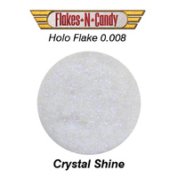 METAL FLAKE GLITTER (0.008) 30G HOLOGRAM Crystal Shine
