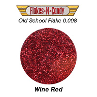 METAL FLAKE GLITTER (0.008) 30G WINE RED