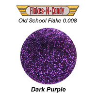 METAL FLAKE GLITTER (0.008) 30G DARK PURPLE