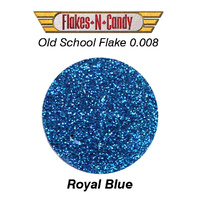 METAL FLAKE GLITTER (0.008) 30G ROYAL BLUE