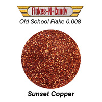 METAL FLAKE GLITTER (0.008) 30G Sunset Copper