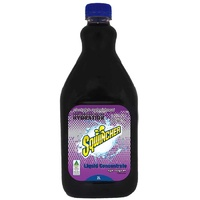 Sqwincher 2L Concentrate Hydration Electrolyte liquid- Grape 2L Mixes to 20L of Sqwincher