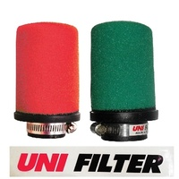 UNIFILTER 48mm STRAIGHT INLET AIR FILTER POD GREEN