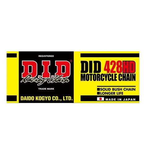 D.I.D #428 Heavy Duty Chain 136 Links (DID428HD136)